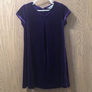 Land's End Purple Dress